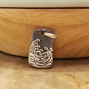 David Yurman Wave Tag (smaller than the other one)